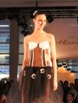 beautiful-model-wearing-a-chocolate-dress-defile-zurich-salon-du-chocolat